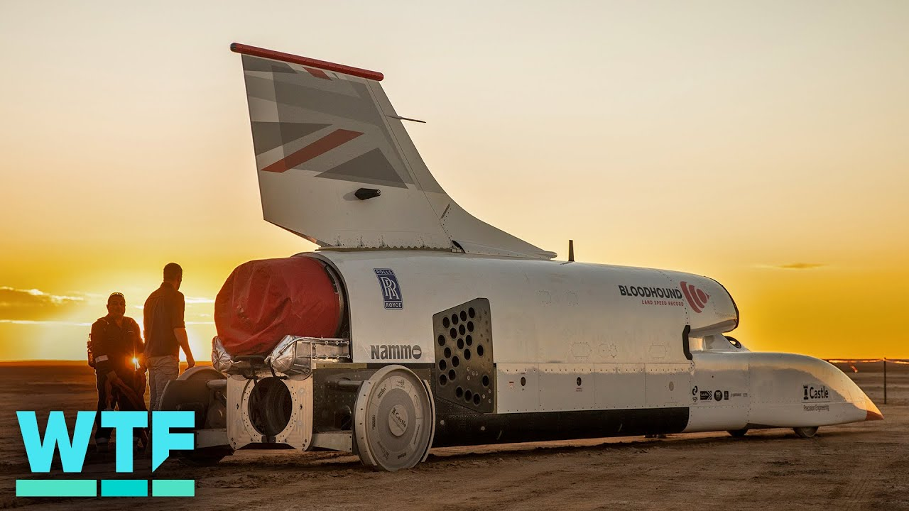 This Supersonic Car is built to break 1,000 mph