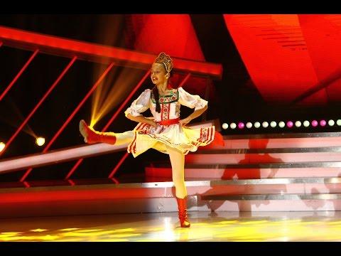 Daria Kimm, balet de rusesc pe scena de la Next Star!