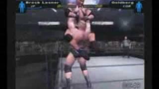 SmackDown: Here Comes The Pain - Brock Lesnar vs Goldberg