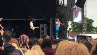 "Ella Eyre ""Came here for Love"" live at Royal Highland Centre Edinburgh 30/6/17"
