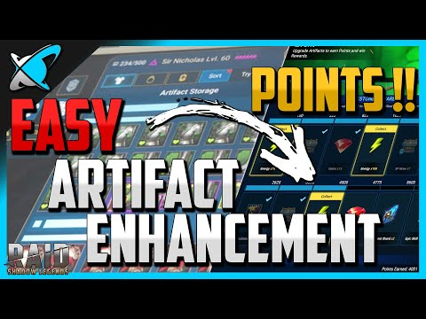 Do THIS for Easy Artifact Enhancement Event Points !! | Giveaway Winners announcement!