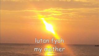 lutan fyah my mother