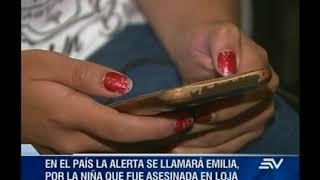 Ecuador implementará alerta Amber, para notificación de desaparición de menores