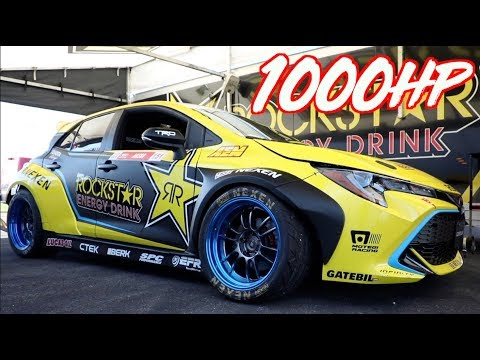 1000HP Prototype Toyota Corolla RWD Conversion - 4cyl on Boost and Nitrous!