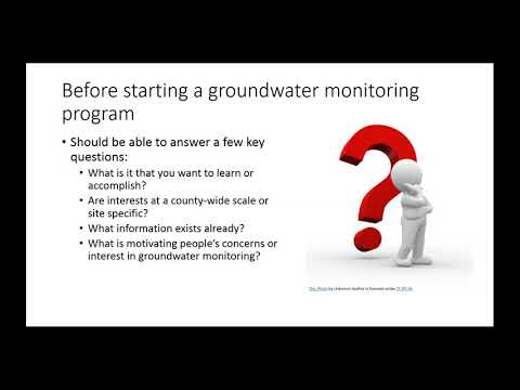Understanding groundwater quality through a private well monitoring program