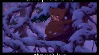 """""""No Way Out""""- Spanish with Subtitles and Translation (Brother Bear)"""