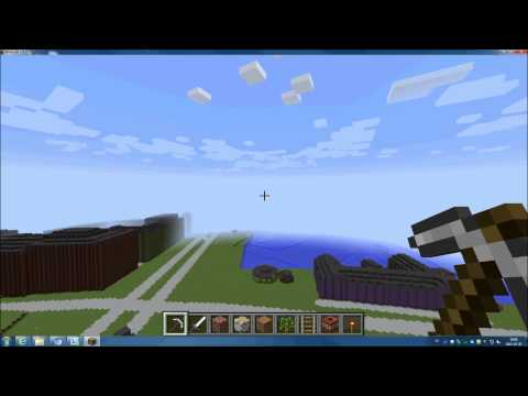 Helsingborg i Minecraft