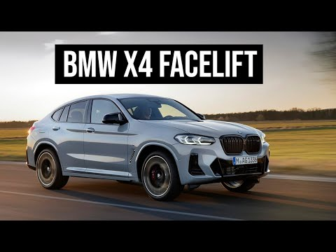 2021 BMW X4 Facelift
