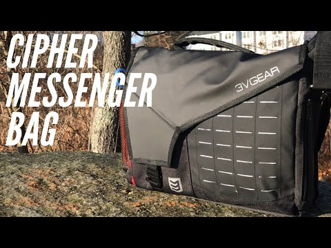 3V Gear Cipher Messenger Bag: Budget-Friendly EDC Bag from Redline Series