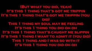 1 Thing-Amerie Lyrics Full Song By FashionDesignerlove