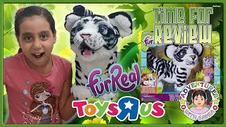 FurReal Friends Roarin' Tyler The Playful Tiger Exclusive | Pet Kids Toys Review From ToysRus