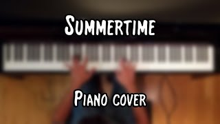 Janis Joplin - Summertime (piano cover & free sheet music)