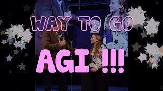 Congratulations Agi!