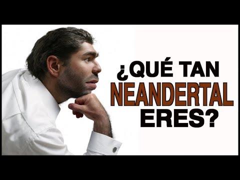 ¿Qué tan neandertal eres?