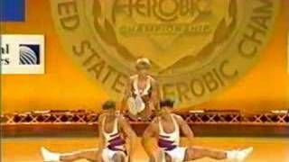 National Aerobics Championship USA 1993 Trio