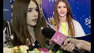 Roksana Węgiel: powrót z Eurowizji Junior 2018. Wywiad na lotnisku