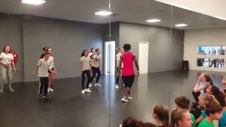 Serge koffi Afro-mix décalé dance class for all levels and all ages 2017