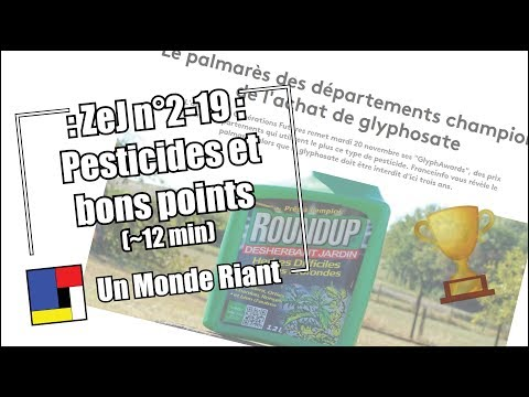 Zététique et journalisme #2-19 - Pesticides et bons points