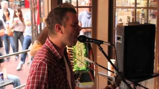 "Lucero - ""Nights Like These"" Acoustic (Ben Nichols and Rick Steff Eat and Greet at Illegal Pete's)"