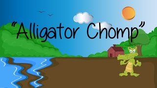 Alligator Chomp | Patterning Skills | Kid's Songs | Learn To Count | Jack Hartmann