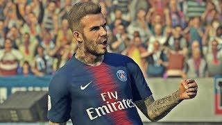 PES 2019 | David Beckham - Free Kick compilation | PS4 PRO
