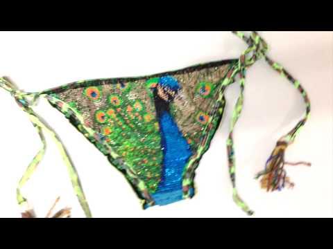 Bendito Peacock Bikini - AGUA BENDITA