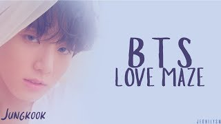 BTS (방탄소년단) - Love Maze [Lyrics Han|Rom|Eng Color Coded]