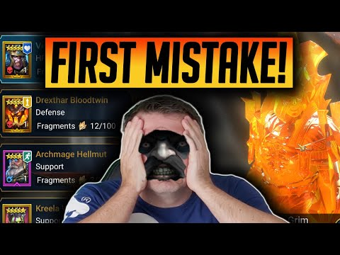 MY FIRST MASSIVE MISTAKE FTP Day 25 | Raid: Shadow Legends