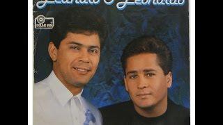 LEANDRO & LEONARDO -   Pra nunca mim dizer adeus 1991 ( Letra)
