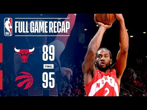 Full Game Recap: Bulls vs Raptors | TOR Takes Down CHI