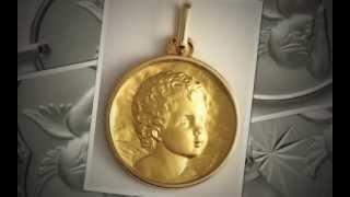 Médailles d'Ange en Or - PortailduBijou.com