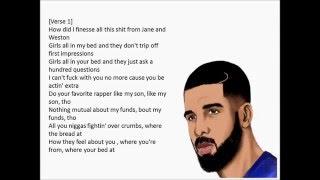 Still Here~Drake~Lyrics See~Description for Audio