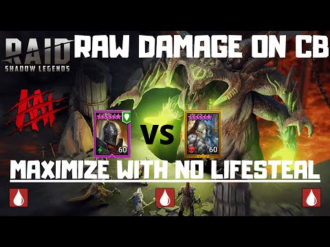When Raw Damage can Out Perform Poisons I Raid Shadow Legends