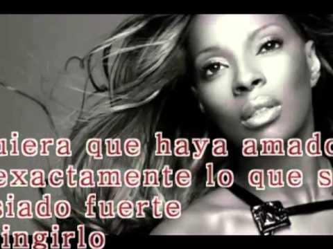 Be Without You En Espanol de Mary J Blige Letra y Video