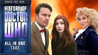 History of Doctor Who Music Video - All in One Take