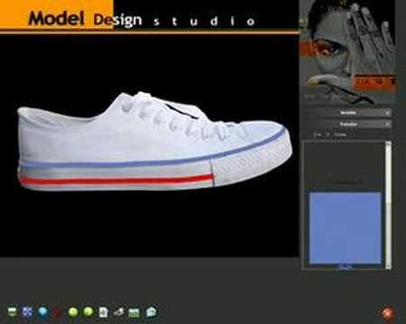 Desen Giydirme Ayakkabi Örneği
