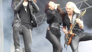 AMARANTHE - On The Rocks [Skogsröjet, Rejmyre, 4.8.2017]