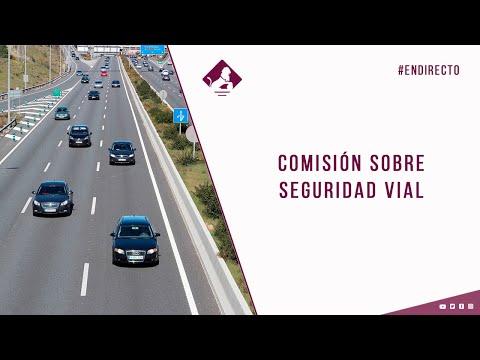 Comisión sobre Seguridad Vial (12/11/2020)