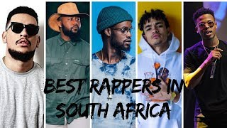 Best Rappers in South Africa 2018