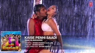 FULL AUDIO   KAISE PENHI SAADI   New Bhojpuri Movie Audio Song 2017 width=