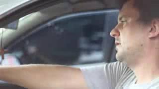 Troca de olhares no carro