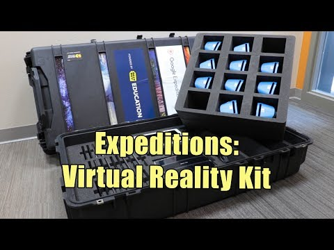 Video Expeditions:  Virtual Reality Kit--Available for Checkout