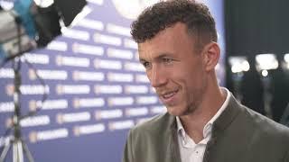 Interview Ivan Perišić beim Lederhosenshooting 2019