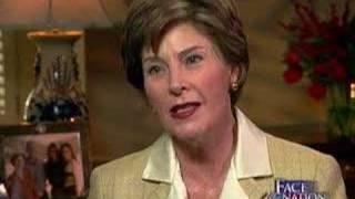 Laura Bush On Her Illness