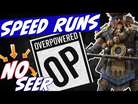 Hurndig SPEED runs NO Seer! FK 25, Dragon 24, DT hard 119. Hurndig is OP! Raid Shadow Legends
