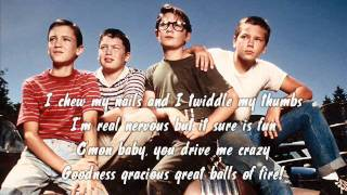 Stand By Me OST - 08 Great Balls Of Fire + Lyrics