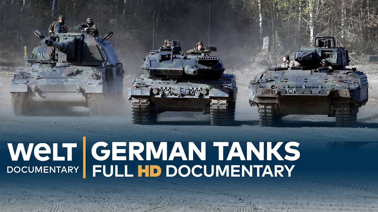 German Tanks – Technology, Development & History | Full Documentary