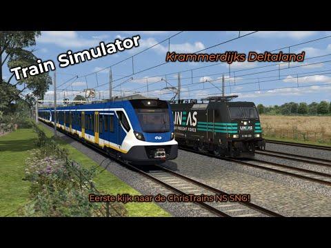 Train Simulator -- Eerste Kijk! #003 -- ChrisTrains NS SNG