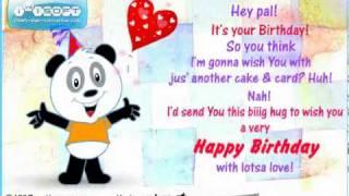 Animated Happy Birthday Greeting Cards - Free Animated Birthday Wishes eCards