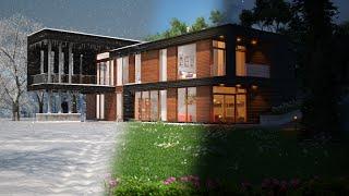 3dsmax villa modelleme eğitim seti tanıtımı